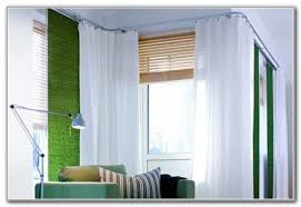 Curtains Corner Windows Ideas Corner Window Curtain Rod Set Curtains Home Design Ideas