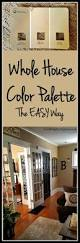 Whole House Color Scheme by Whole House Color Palette The Easy Way Live From Julie U0027s House