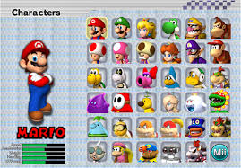 image mkxl character roster png fantendo nintendo fanon wiki