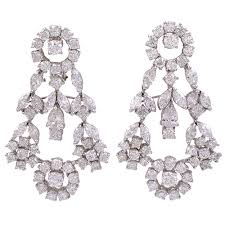 girandole earrings 18k diamond girandole earrings jeri cohen jewelry