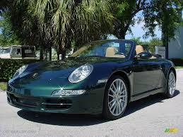 porsche 911 olive green 2006 forest green metallic porsche 911 carrera cabriolet 520605