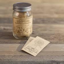seed envelopes seed envelopes in jar gardeners edge