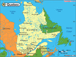 Montreal Canada Map Quebec Travel Maps Of Quebec