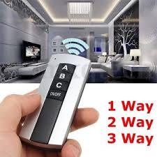 remote control on off light switch 1 2 3 4 way port 220 240v on off wireless digital remote control
