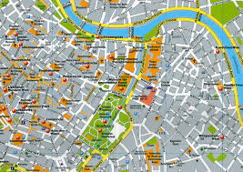map of vienna aa vienna city map mini guide aa publishing 9780749562168