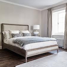 Boston Bed Super King Size Natural Linen Brissi - Boston bedroom