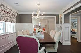 Cozy Dining Room by Designs 23 Dining Room Gray Walls On Wall Covering In Charcoal