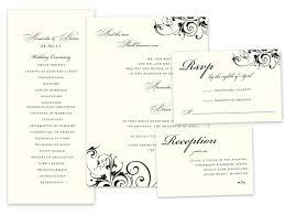 sles of wedding programs wedding invitation card wording sles style by modernstork