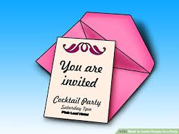 what to write on a christmas party invitation 6 ways to invite people to a party wikihow