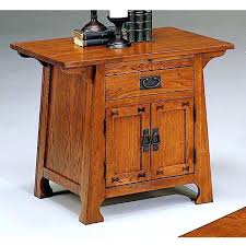 mission style side table mission style bedside table coffee craftsman style furniture mission