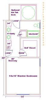 master bedroom and bath floor plans 14x30 master bedroom and bathroom free floor plan with layout designs