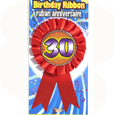 birthday ribbons buy rosette birthday ribbons party accessory cappel s