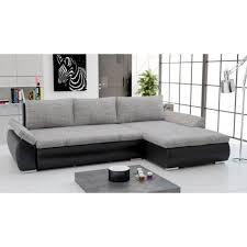 canap gris et noir canapé d angle convertible gris et noir achat vente