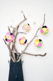 paper ball ornaments u2013 a beautiful mess