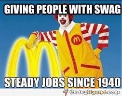 Memes Swag - funny unique memes swag meme mcdonalds mcdonaldspeopleswagjobmeme jpg