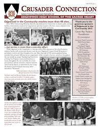 crusader connection winter 2016 by edgewood high issuu