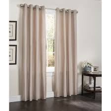 Walmart Com Shower Curtains Kashi Home Erin Solid Blackout Grommet Single Curtain Panel