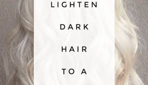 How To Lighten Dark Brown Hair To Light Brown The Golden Rule Of Hair Color Color Won U0027t Lift Color