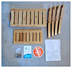 Building A Shower Bench Bamboo Shower Seat With Shelf Diy Guide