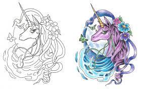 freebies last unicorn tattoo design by tattoosavage on deviantart
