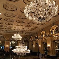 Ballroom Chandelier Celebrating Decades Of Sparkle Omni William Penn Hotel S