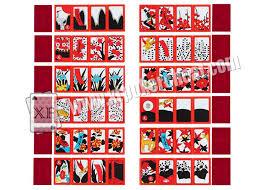 korea huatu barcode marked cards for analyzer gostop