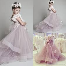 fairy tale wedding dresses lavender flower dresses for weddings made flowers