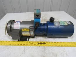 dyna pack m405 monarch hydraulic pump unit w baldor 1hp 3ph motor