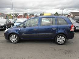 vauxhall zafira rudi gage car sales used cars ni