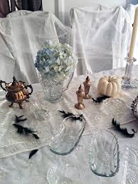 tabletop decorating ideas spooky haunted mansion tabletop for maegan