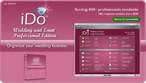 professional wedding planner elm software ido wedding software wedding planning software
