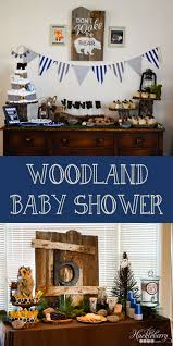 Baby Woodland Animals Baby Shower - woodland animal baby shower huckleberry life