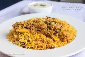 biryani cuisine hyderabadi mutton biryani kachchi method