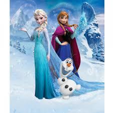 frozen wallpaper elsa and anna sisters forever disney frozen wallpaper by walltastic great kidsbedrooms the