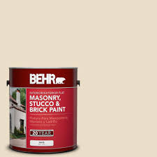 behr 1 gal ms 35 woodland cream flat masonry stucco and brick