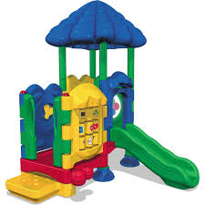 ultra play uplay today timber glen natural commercial playset