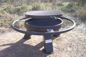 Grill For Fire Pit by Heavy Duty Fire Pits Tx Gates Smokers U0026 Fabrication Marshall