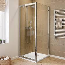 900 Shower Door Ibathuk 900 X 900 Pivot Hinge 6mm Glass Shower Enclosure
