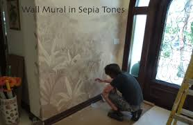 decorative ceiling mural painting and scenic design wall murals by mural artists miami florida