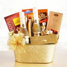 wine and chocolate gift baskets sparkling wine chocolate gift basket