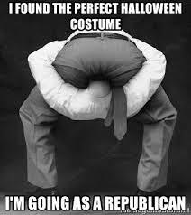 Republican Halloween Meme - i found the perfect halloween costume i m going as a republican