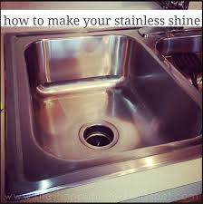 how to get stainless steel sink to shine how to make your stainless sink shine sinks kitchens and household