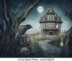 illustrations sous licence de hant礬 cimeti礙re spooky