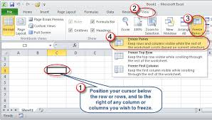 microsoft excel taking the pain out of freezing panes accountingweb