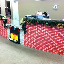creative office christmas decorations cubicle decorations for