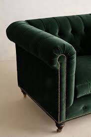 Leather Chesterfield Armchair Velvet Lyre Chesterfield Armchair Hickory Anthropologie