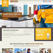 contractors website templates builders websites design company