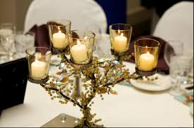 good wedding table candle holders with elegant diy wedding