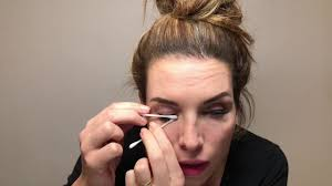 how to remove makeup when wearing eyelash extensions youtube