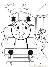 26 best thomas train coloring images on pinterest thomas train